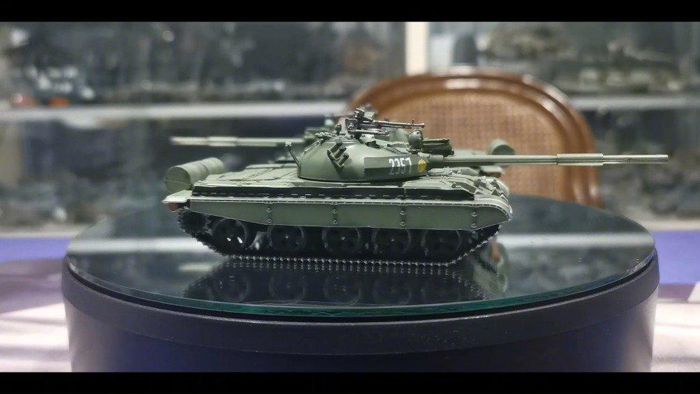 三荣 1/72 苏联T-62 BBD主战坦克 首战珍宝岛就被英勇的中国军队缴获