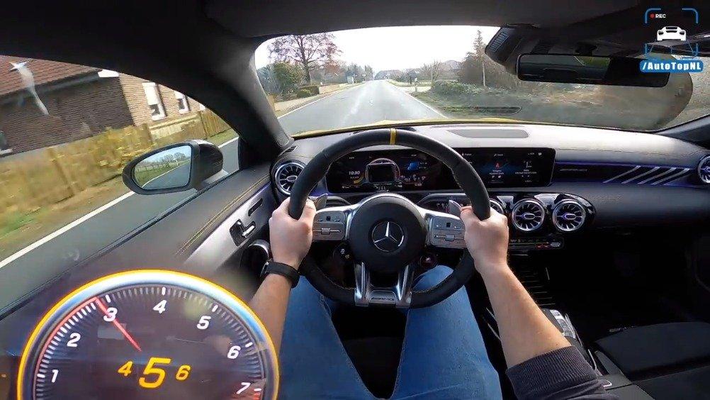 视频:第一视角体验豪车:驾驶梅赛德斯-AMG CLA 45 S 4Matic+