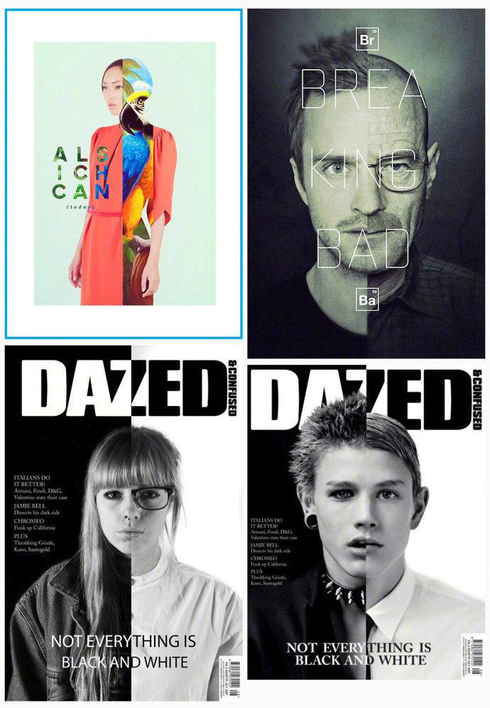 36种人物图片切割版式台账手法v版式建筑设计变更海报图片