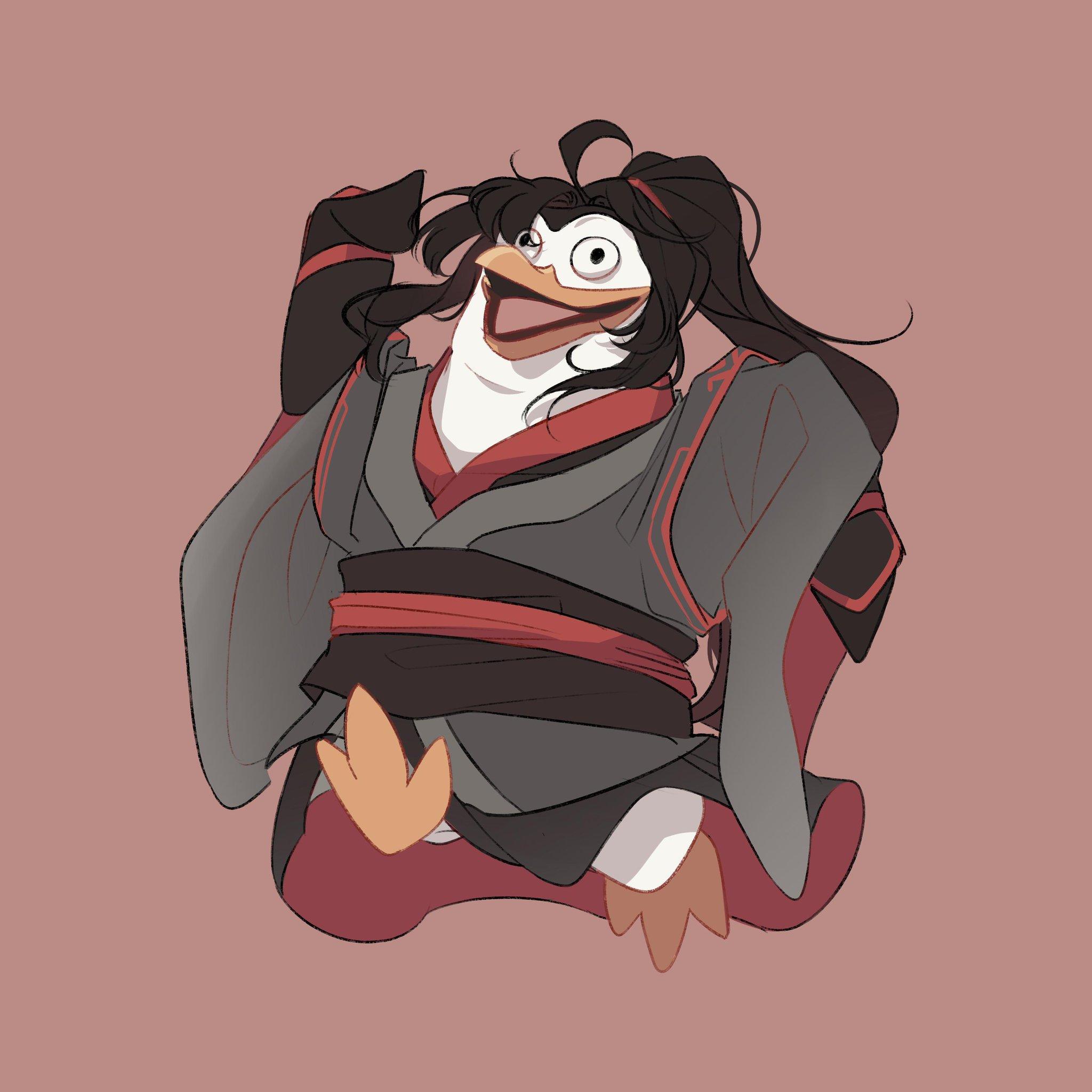 魔道企鹅们。twi:meampants