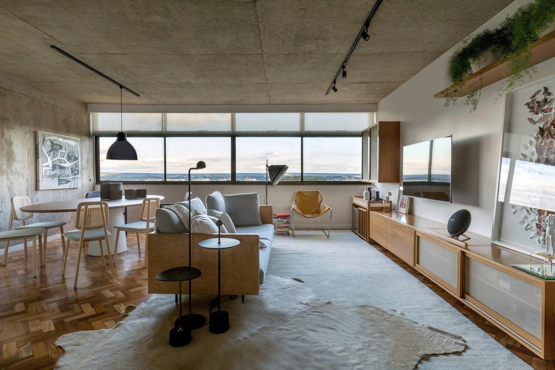 巴西利亚115S工业风公寓设计 | SAINZ arquitetura汕头室内设计/汕头
