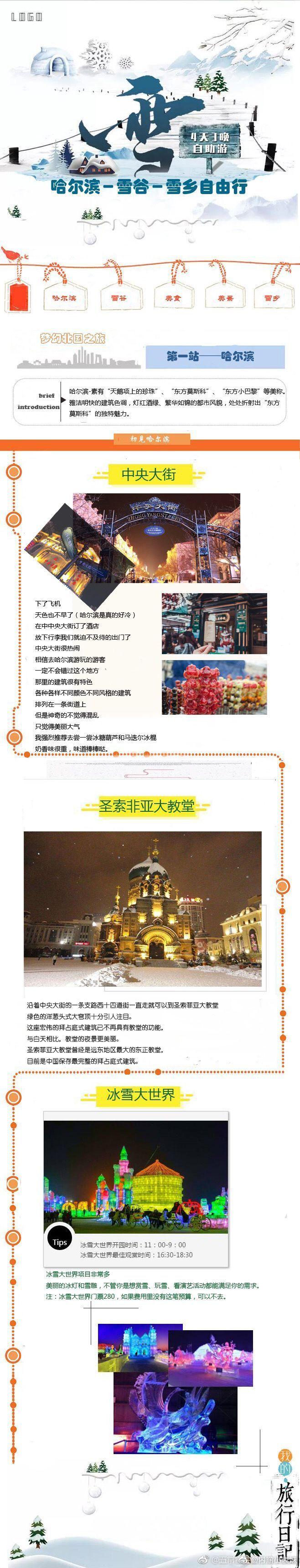 哈尔滨–雪谷–雪乡(装备+交通+住宿+行程)雪乡旅游攻略学生党自