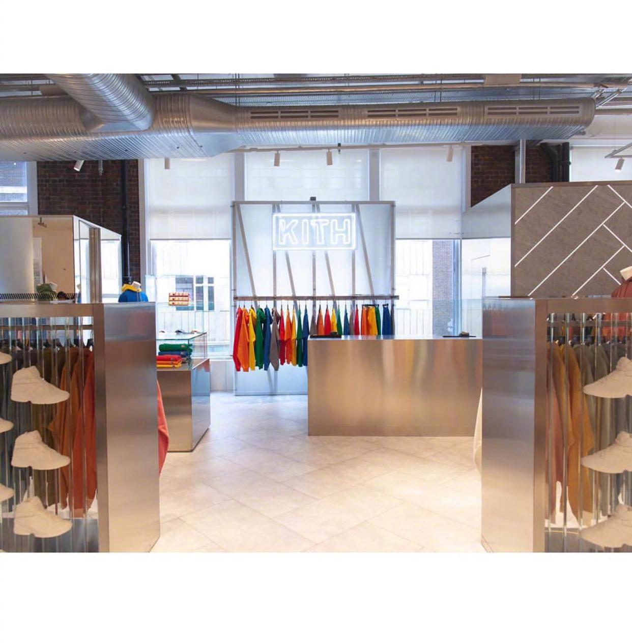 Kith 在伦敦Selfridges的新店正式开业~ 还没去过伦敦