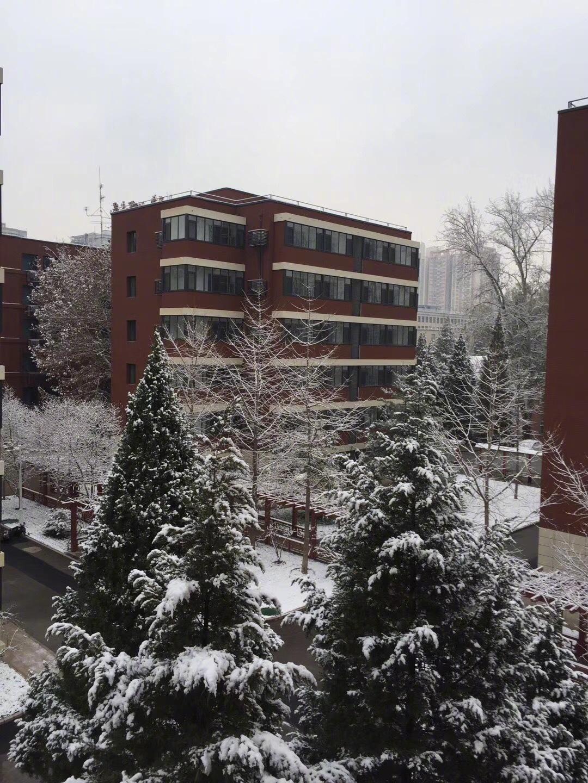 2019中国矿业大学(北京)雪景 摄影@禇访风飞风