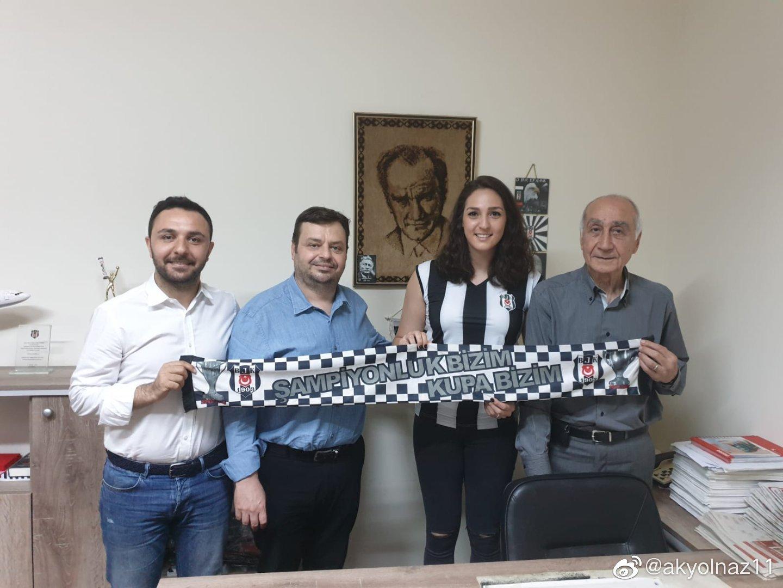 2019-2020赛季土耳其本土副攻布斯拉转会至贝西克塔斯俱乐部