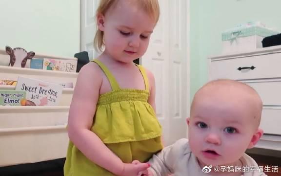 3岁宝宝面对宝妈的提问,小脑袋摇晃了起来,回答实在太有意思了!