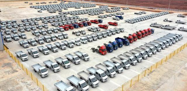 凯马汽车赣州工厂,完成整车生产1200台