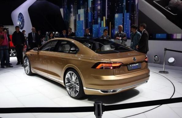 上汽大众C Coupe GTE,中文名命名为辉道,轴距达到3014mm