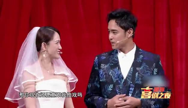 陈乔恩在 中和明道搭档演小品啦~她还在节目中大谈爱情观
