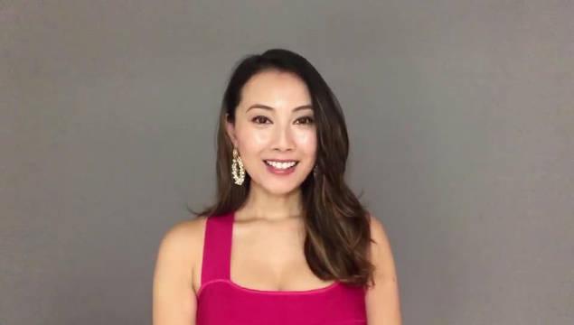 中国香港演员袁嘉敏视频祝福