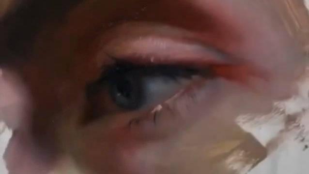 细腻的油画眼睛
