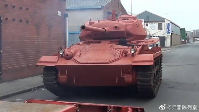 """M24轻型坦克(英文:M24 Light tank ),代号""""霞飞"""""""