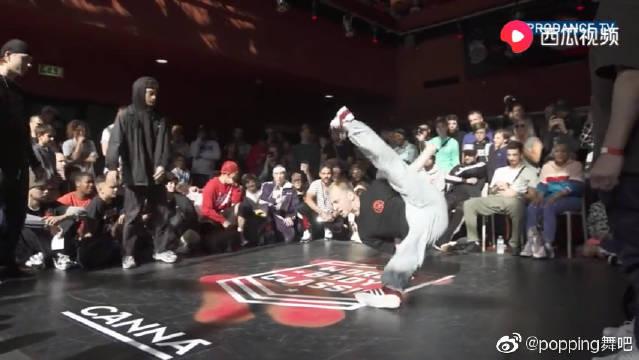 荷兰街舞赛WBC2019世界总决赛Mayo Cube vs Alkolil Cheerito