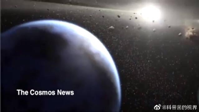 科学家通过宇宙空间隐形网的弯曲程度,发现最远的行星。