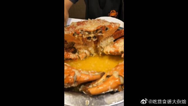 蟹肉锅,巨无霸钳子肉不要太满足