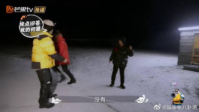 """又演!黄子韬夜跑遇北极熊和狐狸?王彦霖被""""皮皮兄""""套路整懵了"""