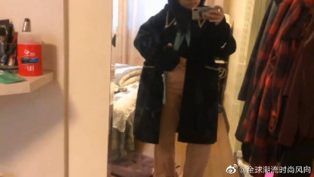 黑色大衣也可以出彩!冬季装乖指南,各种肤色都适合的色彩穿搭!