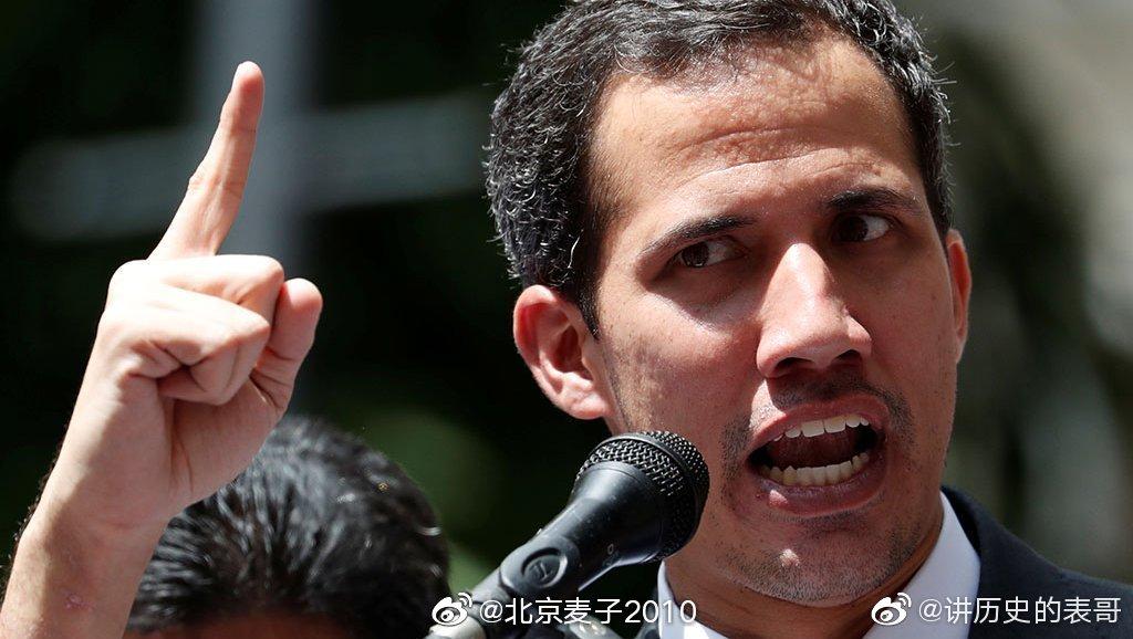 委内瑞拉反对派最显著的特征就是右臂绑着蓝丝带
