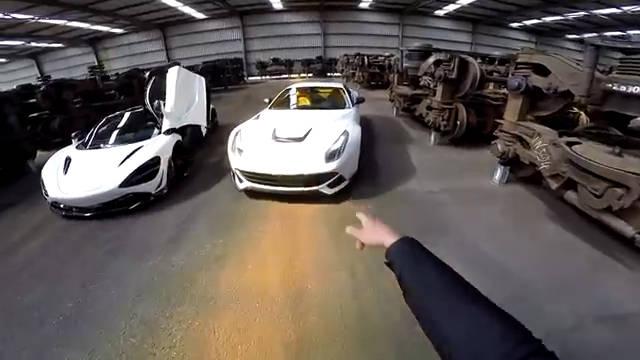视频:法拉利F12,这排气改的怎么样?