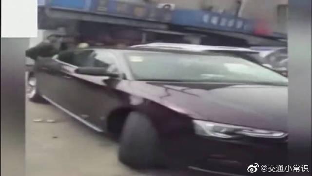 这是我见过最丧心病狂的路怒司机,监控让人后怕