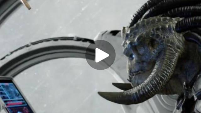 外星狩猎者来到陌生星球取能源刚停下飞船,就被怪物给盯上了