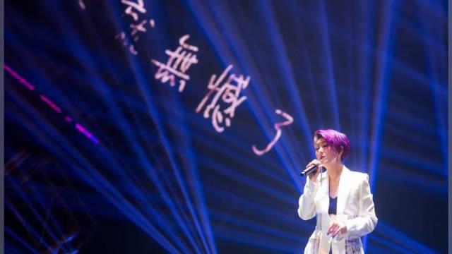明星音乐会在亚洲国际博览馆火热演出 杨千嬅、杜德伟