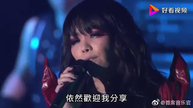 张惠妹现场演唱《彩虹》,这里也许不是乌托邦