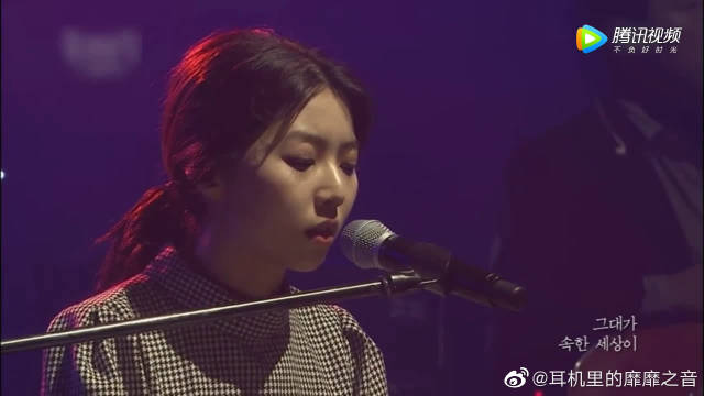 超好听的一首歌,超美的歌手。
