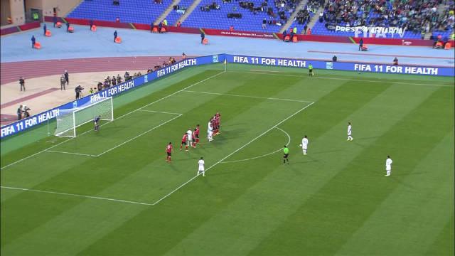 圆月弯刀再现江湖@小罗_Ronaldinho 世俱杯面对广州恒大再演经