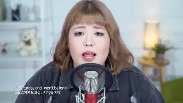 被吃播耽误的歌手,韩国秀彬4首新歌合计,泰语英语韩语