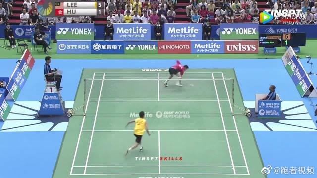 2014年日本公开赛,李宗伟两局实力碾压对手获得冠军