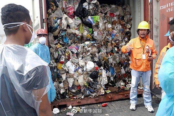 加拿大承诺下月运走滞留菲律宾垃圾