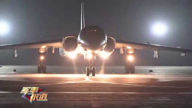 空军航空兵某团飞行二大队轰-6K战机突防突击训练