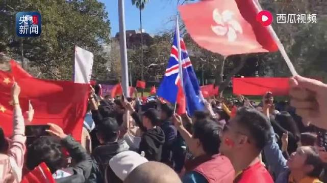 有中国人的地方,就有五星红旗!