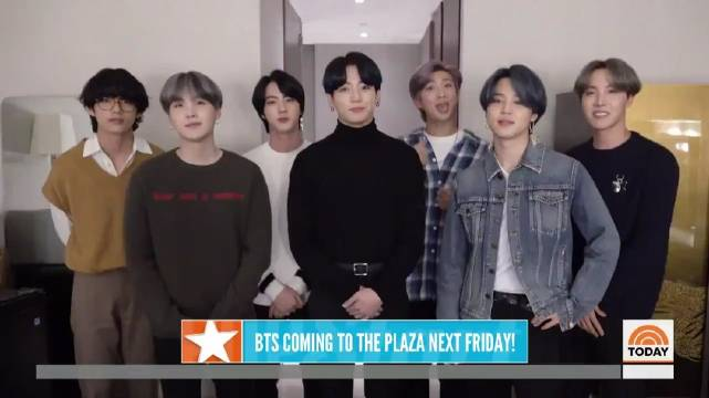 Don't miss BTS_twt on the TODAY plaza