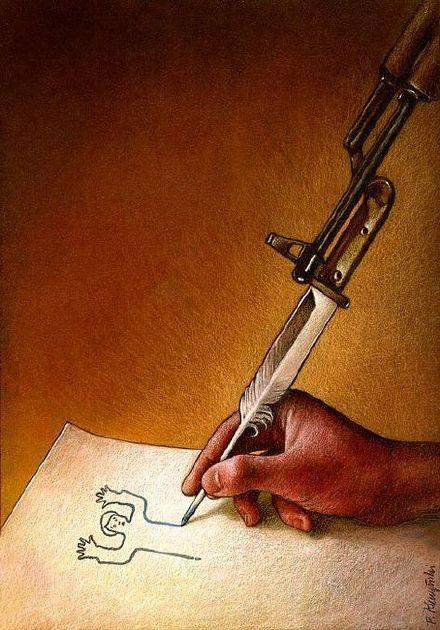 充满讽刺意味的插画,你看懂了吗?丨 Pawel Kuczynski