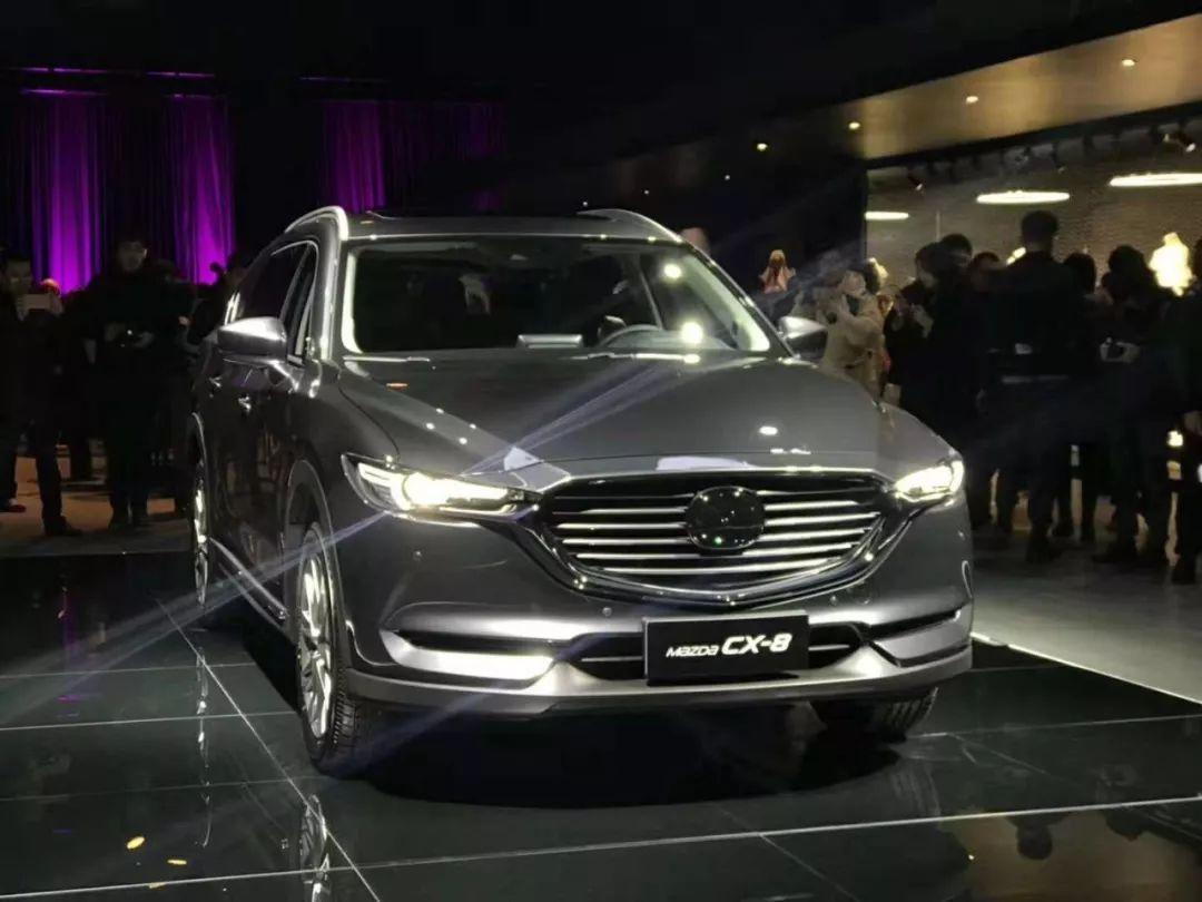 """25.88万起,""""操控最好的大七座SUV""""马自达CX-8上市"""