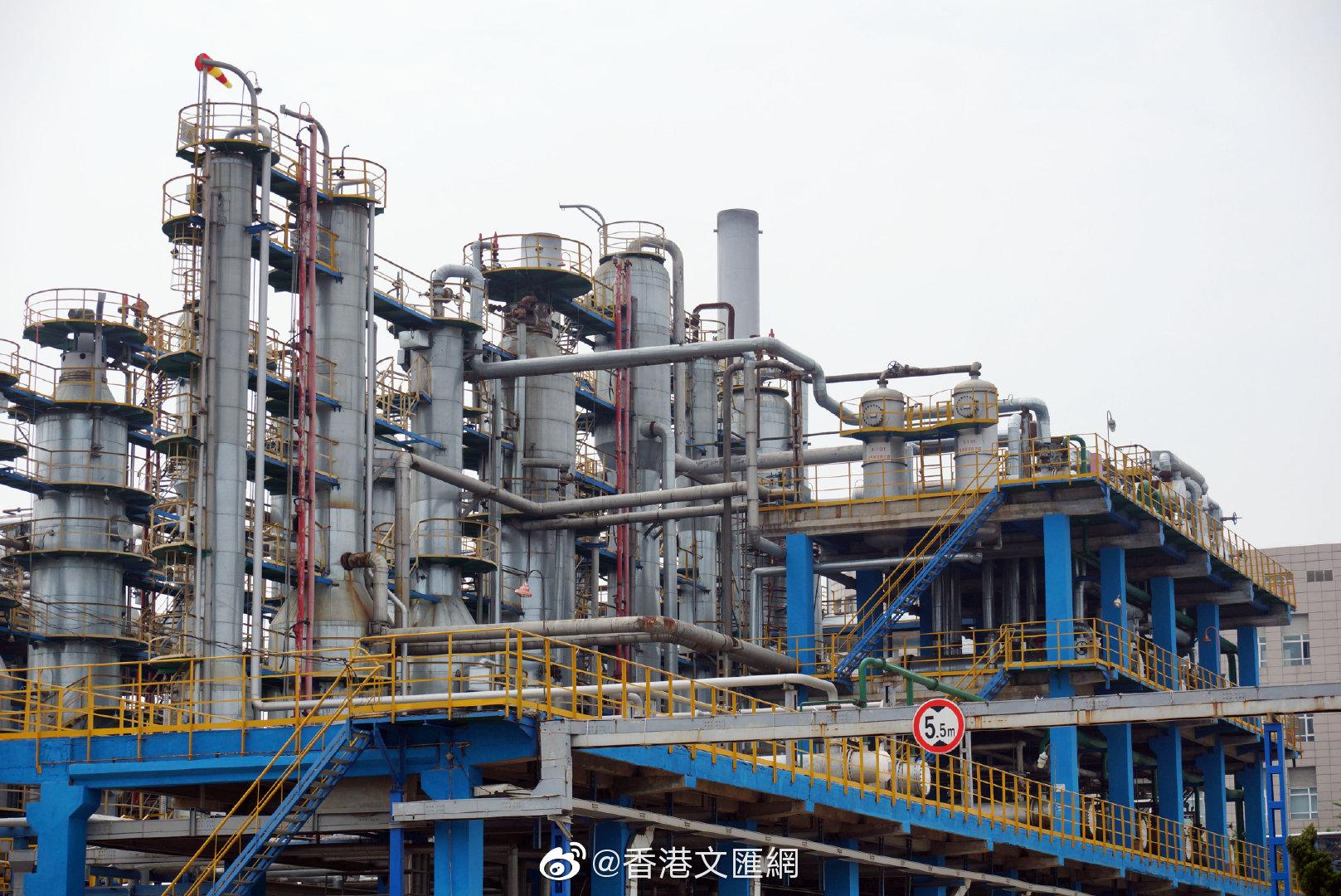 中国石油举办开放日 探秘大连石化工厂