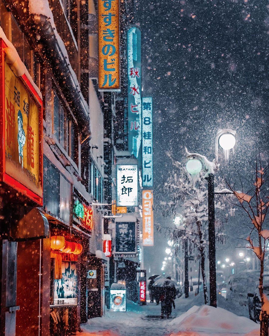 温暖的冬日影像 | 摄影师Kristina Makeeva镜头里的日本