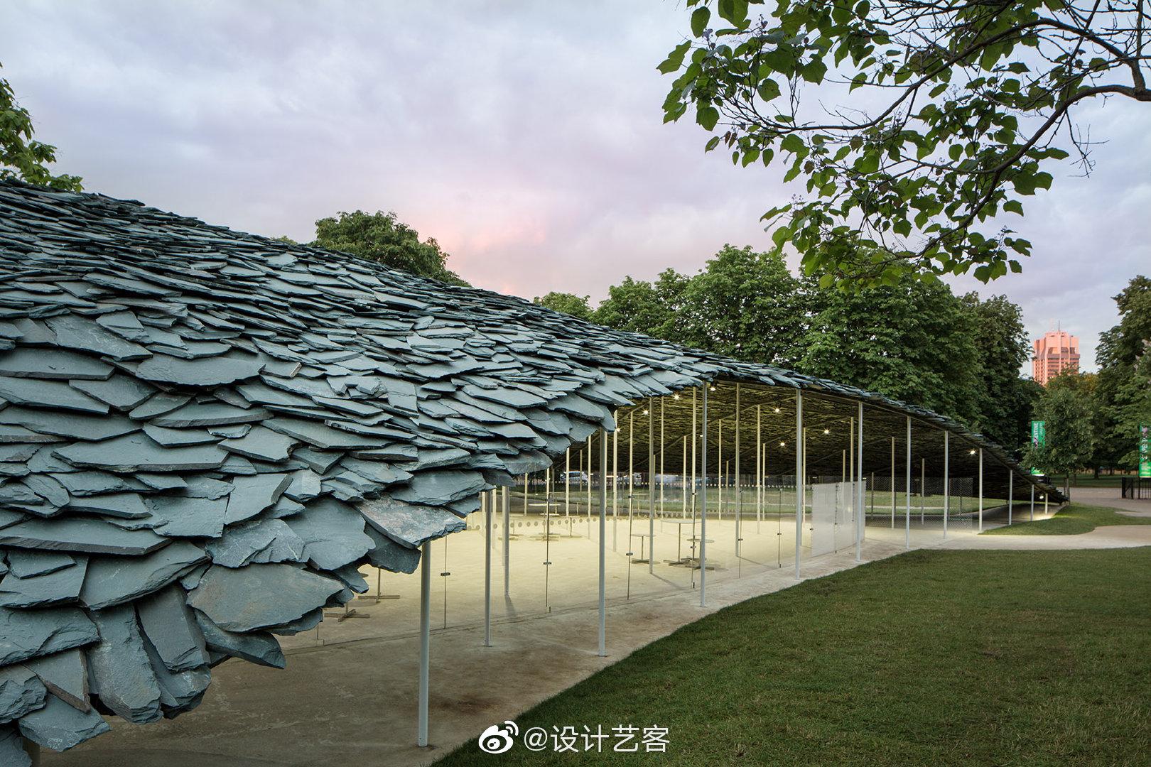 2019英国蛇形画廊建筑 | 石上纯也