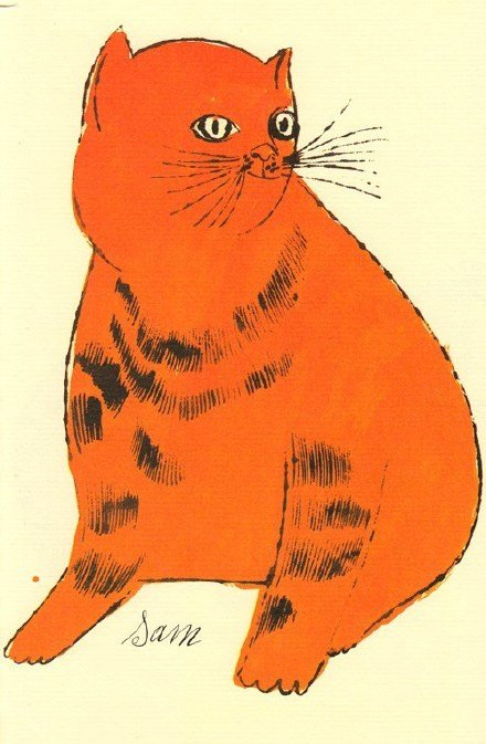 Cats Named Sam  安迪·沃霍尔 的猫咪