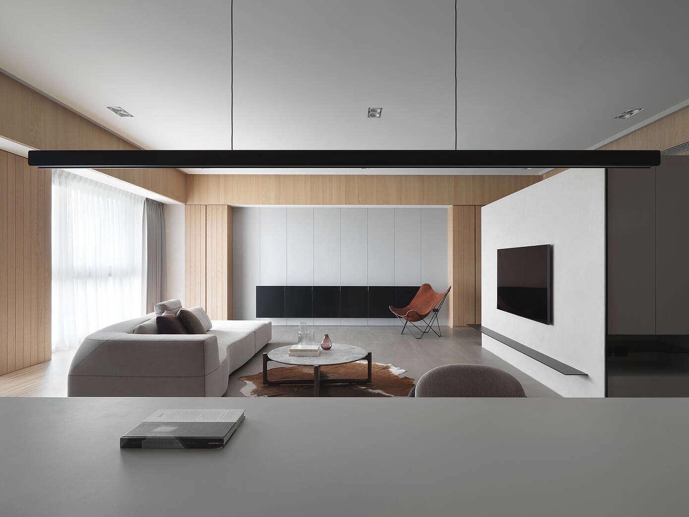 台北豪华的现代公寓丨 汕头设计师/汕头室内设计