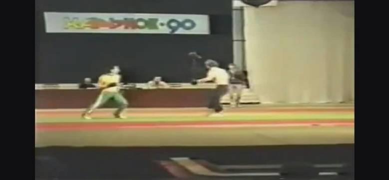 20年前的飞龙李建文打败俄罗斯搏击高手