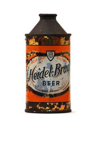 Vintage 啤酒罐