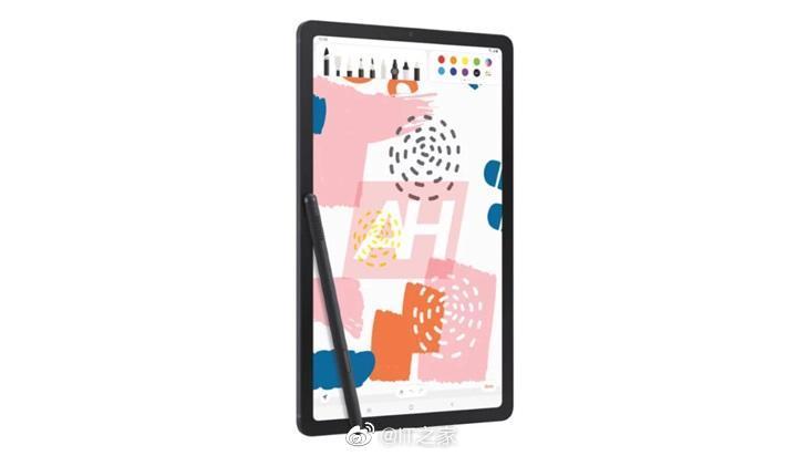 三星 Galaxy Tab S6 Lite 平板渲染图曝光:10.5 英寸屏幕