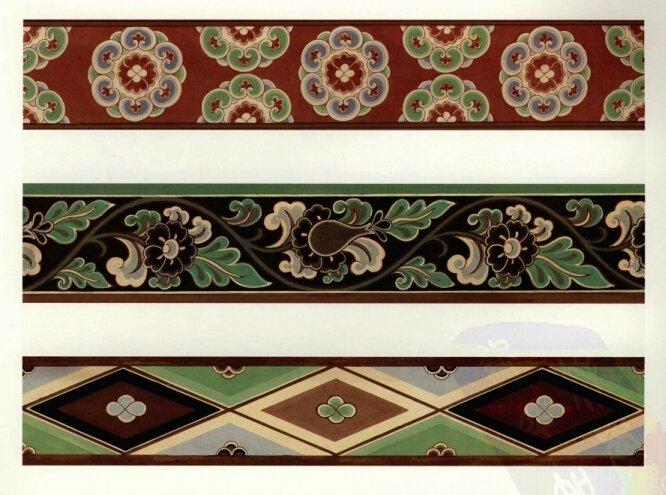 唐宋时期敦煌莫高窟壁画的服饰边饰图案,中古之美,唐之繁复