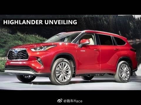 视频:2020年丰田汉兰达发布及概述