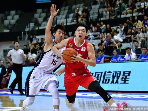环渤海夏季联赛天津站,辽宁77-77青岛,周湛东投进绝平三分