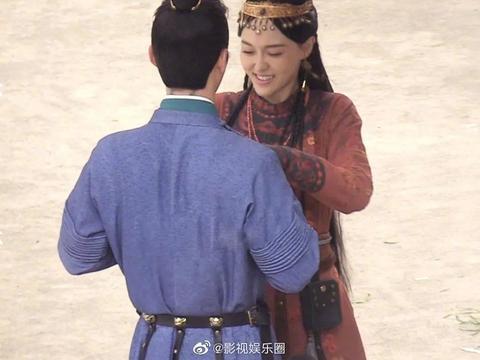 唐嫣和窦骁主演电视剧《燕云台》最新路透,唐嫣状态太好了吧