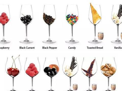 葡萄酒的各类酒香